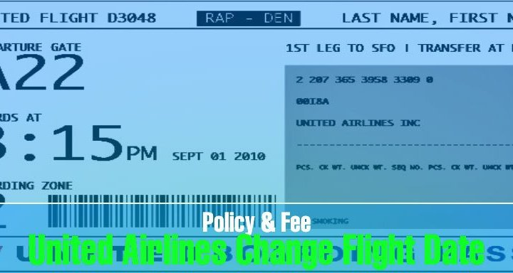 united airlines change flight date policy fee reschedule booking Airplane GEEK United Airlines Change Flight Date Policy & Fee: Reschedule Booking