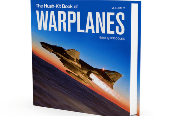 volume 2 of the hush kit book of warplanes crowdfunding launched and it has a phantom on the cover Airplane GEEK Volume 2 of the Hush-Kit Book of Warplanes crowdfunding launched! And it has a Phantom on the cover