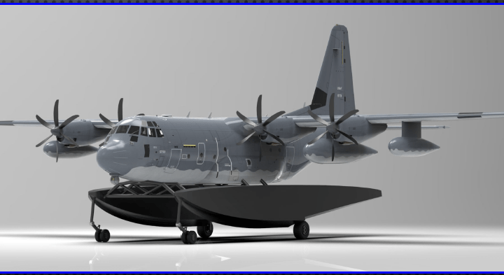you wont believe how fast a c 130 on floats might happen Airplane GEEK You Won't Believe How Fast A C-130 On Floats Might Happen!