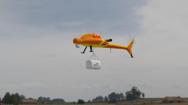cargo delivery by drone