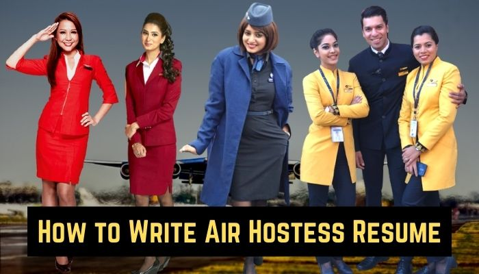 how to write air hostess resume for freshers download free resume Airplane GEEK How to Write Air Hostess Resume for Freshers [Download Free Resume]