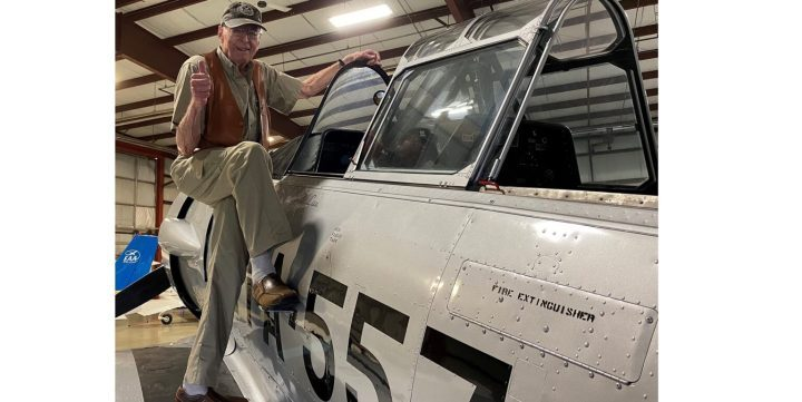 reuniting with an old friend Airplane GEEK Reuniting With an Old Friend