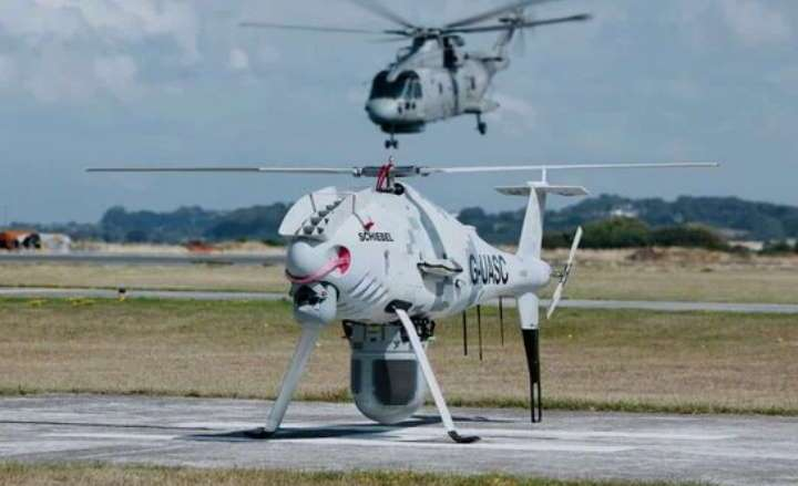 schiebel and thales demonstrate maritime information advantage in recent camcopter s 100 uk flight trials Airplane GEEK Schiebel and Thales demonstrate maritime information advantage in recent Camcopter S-100 UK flight trials