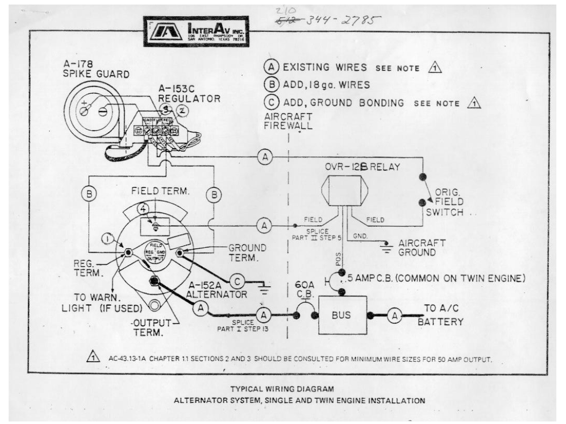 hight resolution of here is the information justin had sent me about his interav alternator system is his 1960 debonair that i found helpful in troubleshooting the interav