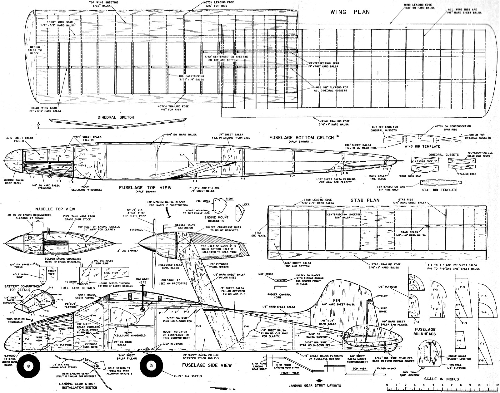 Mac's 'Chariot' Article & Plans , April 1957 American