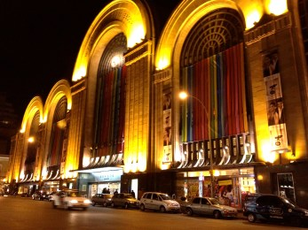 Abasto Shopping Mall at Night