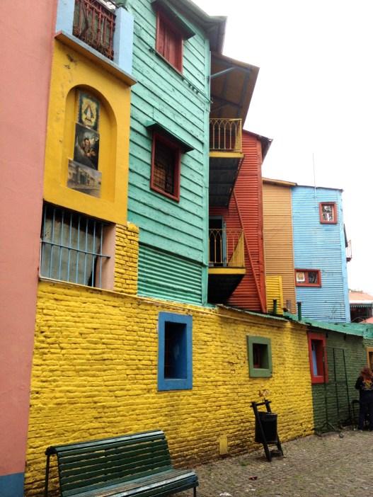 Colorful Houses in La Boca