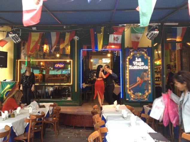 Tango Dancing in La Boca