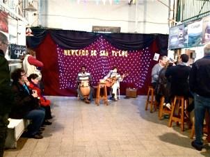 Live Music in the Mercado de San Telmo