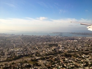 Aerial view of San Diego!