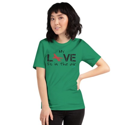 airplaneTees MY Love is in the air tee... Short-Sleeve Unisex 31