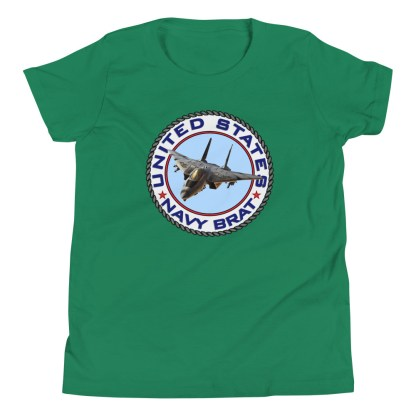 airplaneTees US NAVY BRAT youth tee... w/Back Printed - Youth Short Sleeve 10
