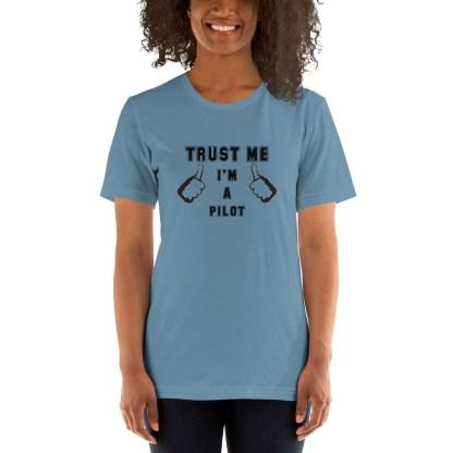 airplaneTees Trust me Im a Pilot tee... Short-Sleeve Unisex 5
