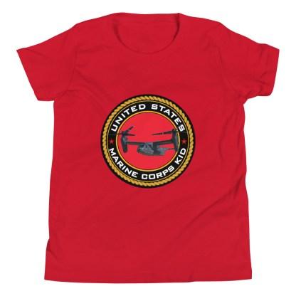 airplaneTees US Marine Corps Kid tee... Youth Short Sleeve 11