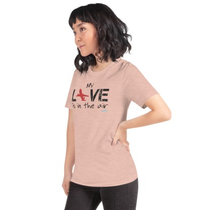 airplaneTees MY Love is in the air tee... Short-Sleeve Unisex 38