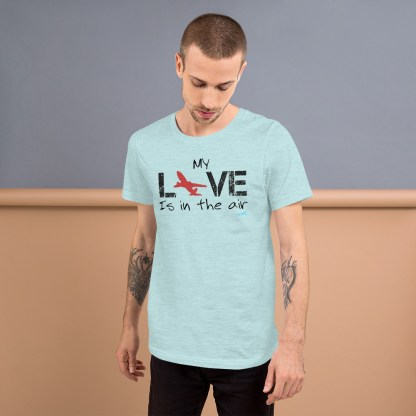 airplaneTees MY Love is in the air tee... Short-Sleeve Unisex 11