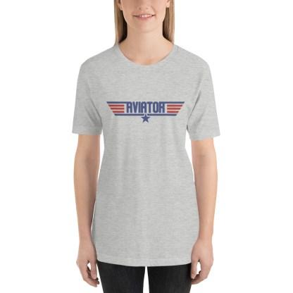airplaneTees Aviator Maverick tee - Short-Sleeve Unisex 4
