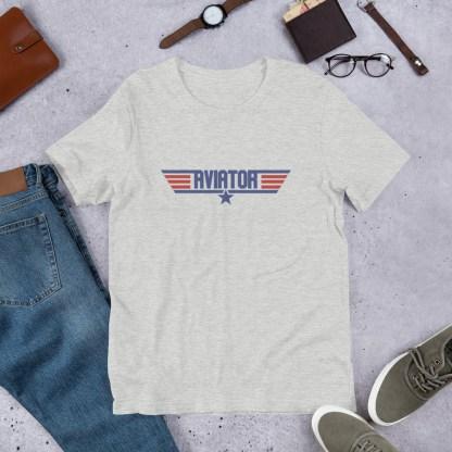airplaneTees Aviator Maverick tee - Short-Sleeve Unisex 9