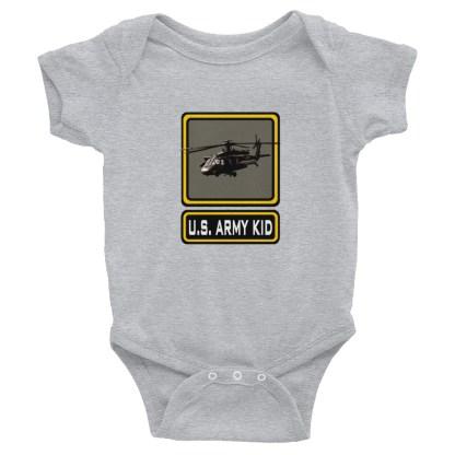 airplaneTees US Army Kid Onesie... Rabbit Skins Infant Bodysuit 1