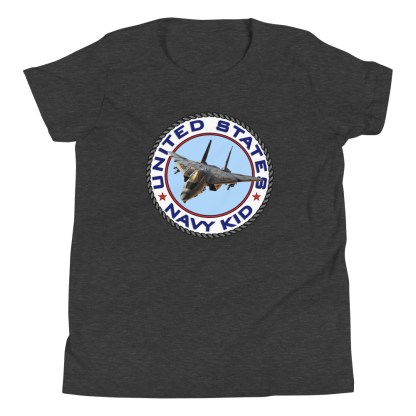 airplaneTees US NAVY KID Tee... Back Printed - Youth Short Sleeve 9