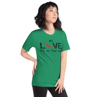airplaneTees MY Love is in the air tee... Short-Sleeve Unisex 33
