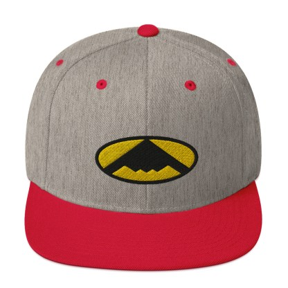 airplaneTees B2 Bomber Snapback Hat – In the style of Batman 9