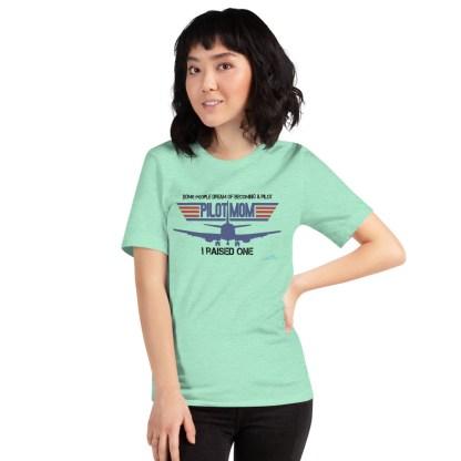 airplaneTees PILOT MOM tee... Short-Sleeve Unisex 25