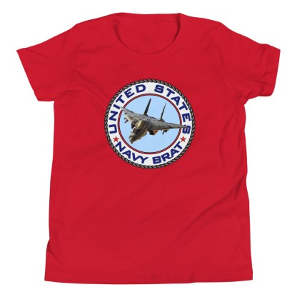 airplaneTees US NAVY BRAT Tee... Youth Short Sleeve 12