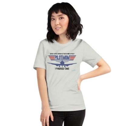 airplaneTees PILOT MOM tee... Short-Sleeve Unisex 14