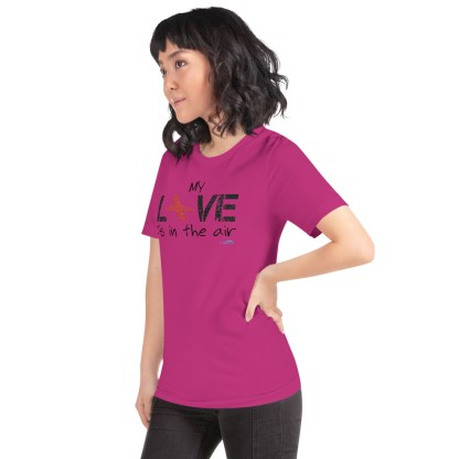 airplaneTees MY Love is in the air tee... Short-Sleeve Unisex 56