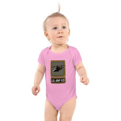 airplaneTees US Army Kid Onesie... Rabbit Skins Infant Bodysuit 2