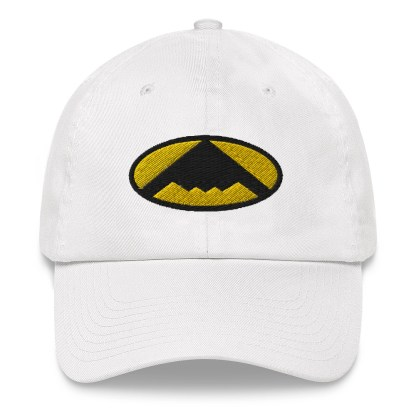 airplaneTees B2 Bomber Dad hat – In the style of Batman 8