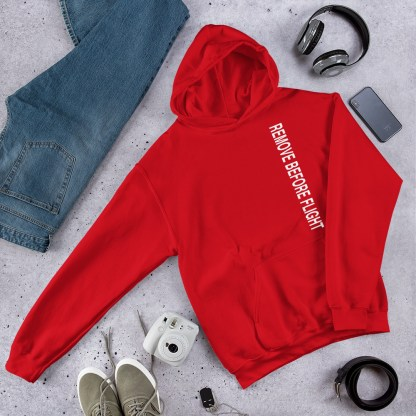 airplaneTees Remove before flight Hoodie - Unisex 7