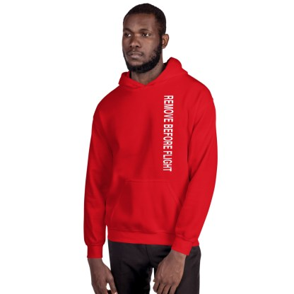 airplaneTees Remove before flight Hoodie - Unisex 3