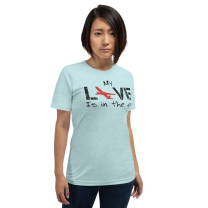 airplaneTees MY Love is in the air tee... Short-Sleeve Unisex 7