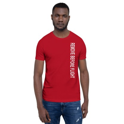 airplaneTees Remove before flight tee... Short-Sleeve Unisex 3