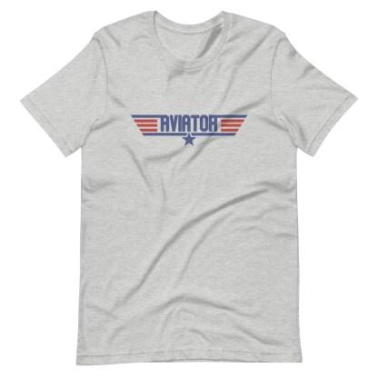 airplaneTees Aviator Maverick tee - Short-Sleeve Unisex 10