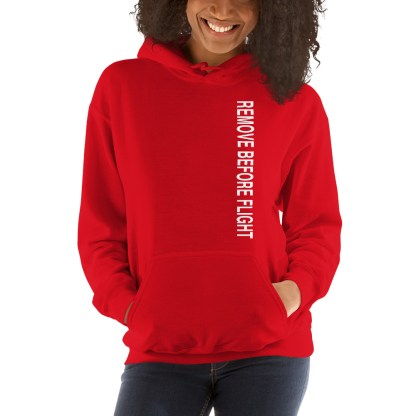 airplaneTees Remove before flight Hoodie - Unisex 1