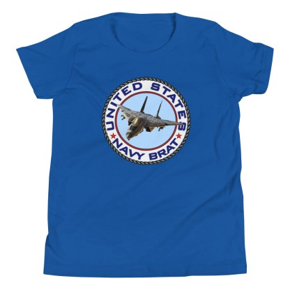 airplaneTees US NAVY BRAT youth tee... w/Back Printed - Youth Short Sleeve 14