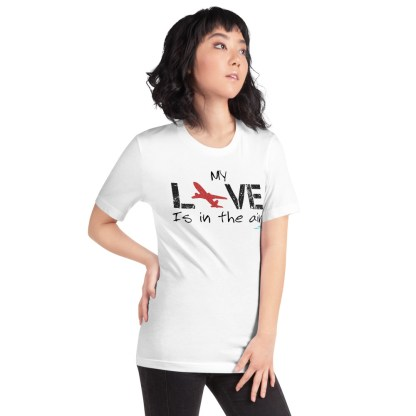 airplaneTees MY Love is in the air tee... Short-Sleeve Unisex 19
