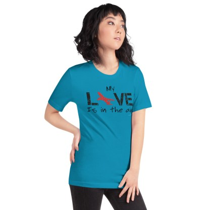 airplaneTees MY Love is in the air tee... Short-Sleeve Unisex 45