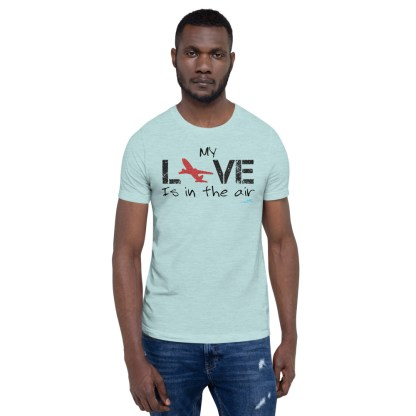 airplaneTees MY Love is in the air tee... Short-Sleeve Unisex 3