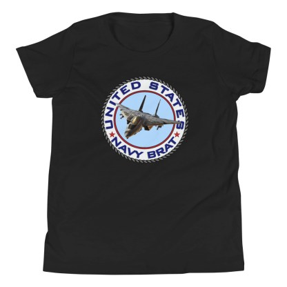 airplaneTees US NAVY BRAT youth tee... w/Back Printed - Youth Short Sleeve 3