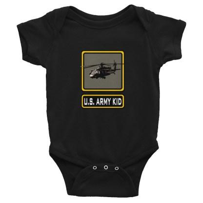 airplaneTees US Army Kid Onesie... Rabbit Skins Infant Bodysuit 3