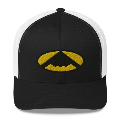 airplaneTees B2 Bomber Trucker Cap – In the style of Batman 1