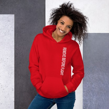 airplaneTees Remove before flight Hoodie - Unisex 11