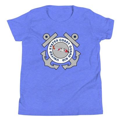 airplaneTees Coast Guard Kid- Back Printed... Youth Short Sleeve T-Shirt 16