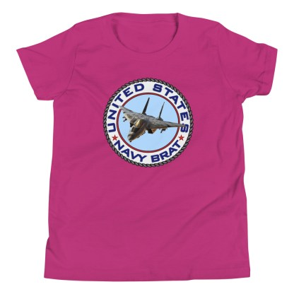 airplaneTees US NAVY BRAT youth tee... w/Back Printed - Youth Short Sleeve 18