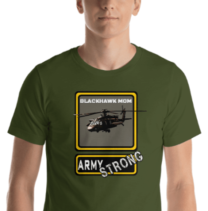 airplaneTees PERSONALIZE IT - Army Strong Tee, Army Mom, Dad, Rank, Class you name it. Short-Sleeve Unisex T-Shirt 22