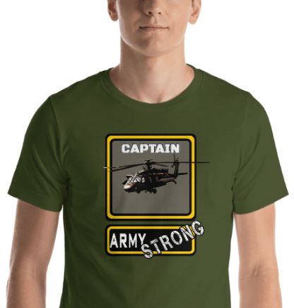 airplaneTees PERSONALIZE IT - Army Strong Tee, Army Mom, Dad, Rank, Class you name it. Short-Sleeve Unisex T-Shirt 23